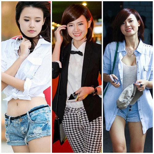 10 sao Việt diện sơ mi đẹp nhất - 14
