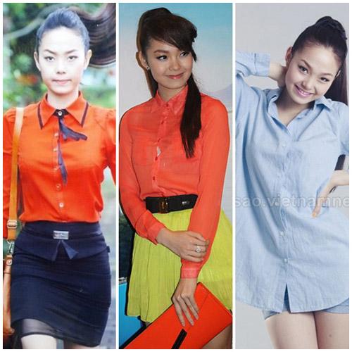 10 sao Việt diện sơ mi đẹp nhất - 15