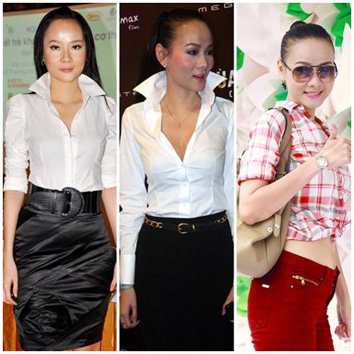10 sao Việt diện sơ mi đẹp nhất - 16