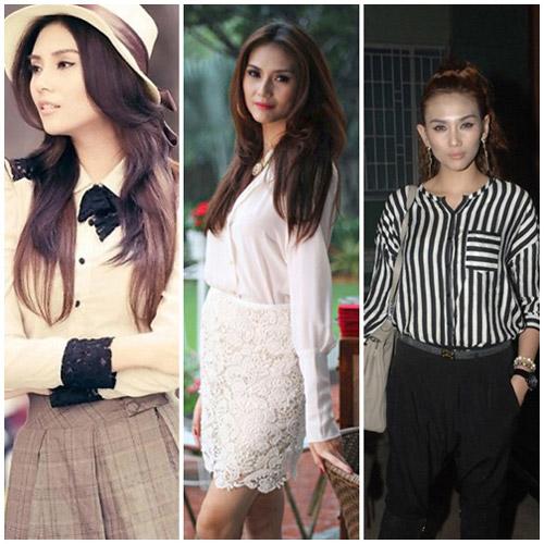 10 sao Việt diện sơ mi đẹp nhất - 18