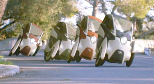 Xế lạ: Toyota i-Road xuống phố - 1