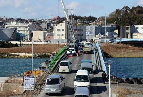 Nhật: Quang cảnh sau 2 năm sóng thần tàn phá - 7