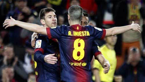 Barca: Ma trận chờ Milan - 1