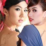 Thời trang - Mỹ nhân Việt gợi cảm với mốt xăm lưng