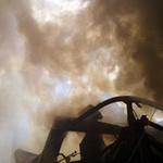 Tin tức trong ngày - Hà Nội: Cháy lớn, nhà 5 tầng đổ sập