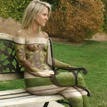 Phi thường - kỳ quặc - Những tác phẩm 3D body painting siêu lừa
