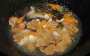 Ngọt bùi canh thịt nạc nấu củ ấu - 6