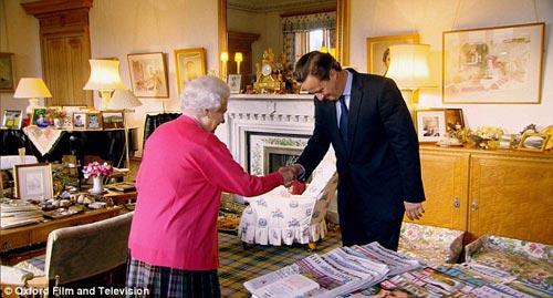Ngắm phòng khách của Nữ hoàng Anh - 1
