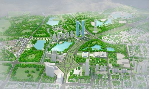 """Xây đường lớn vào """"siêu dự án"""" Tây Hồ Tây - 1"""