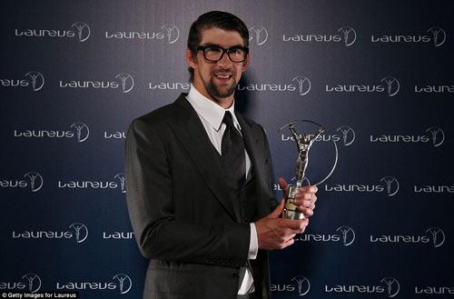Usain Bolt giành giải thưởng Laureus - 2