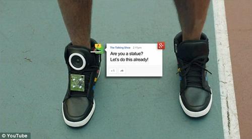 """Google sản xuất giày """"biết nói"""" - 5"""