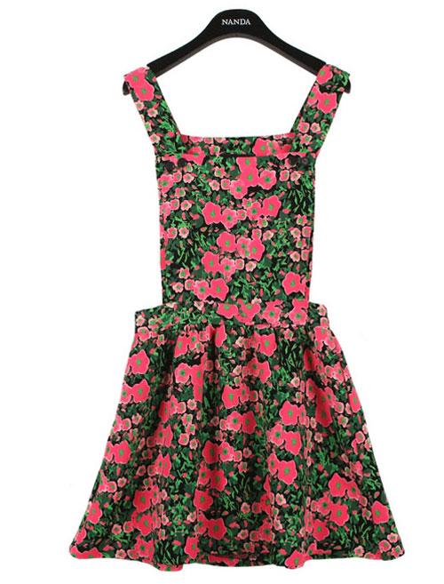 Rực rỡ váy hoa trong nắng - 2