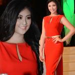 Thời trang - Hoa hậu Ngọc Hân khai thác cơ thể ý nhị
