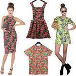 Thời trang - Rực rỡ váy hoa trong nắng