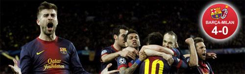 Chấm điểm Barca - Milan: Siêu nhân Messi! - 2