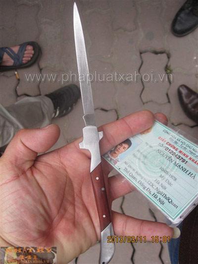NK141: Thủ dao nhọn, chạy bán sống bán chết - 2