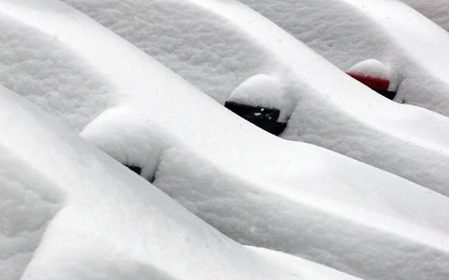 Giao thông châu Âu tê liệt vì bão tuyết - 5