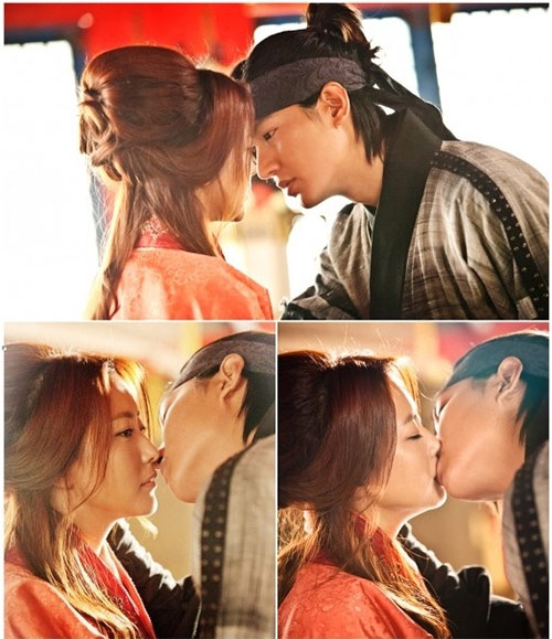 Kim Hee Sun ghét hôn Lee Min Ho - 2