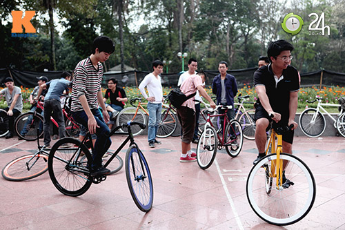 Chất chơi với xe đạp Fixed Gear - 8