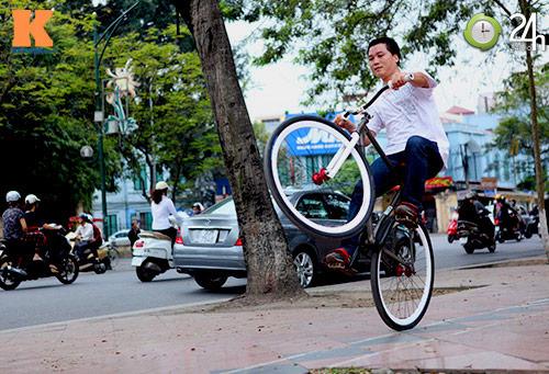 Chất chơi với xe đạp Fixed Gear - 18