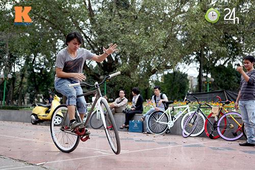Chất chơi với xe đạp Fixed Gear - 11