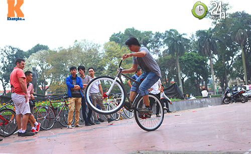 Chất chơi với xe đạp Fixed Gear - 17