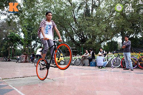 Chất chơi với xe đạp Fixed Gear - 14