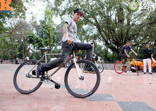 Chất chơi với xe đạp Fixed Gear - 10