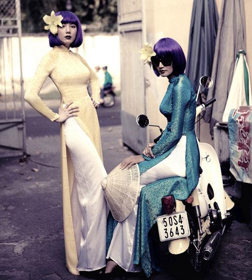 Mẫu Việt hóa phụ nữ Sài Gòn xưa - 12