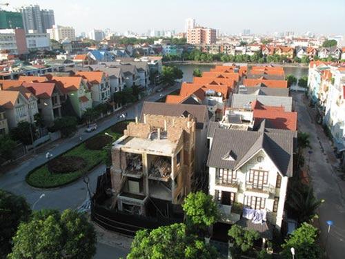 HN: Giá biệt thự, liền kề khu đô thị rớt thảm - 1