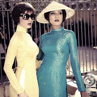 Mẫu Việt hóa phụ nữ Sài Gòn xưa