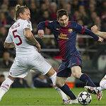 Bóng đá - Barca - Milan: Chiến công siêu hạng
