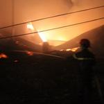 Tin tức trong ngày - Bình Dương: Cháy lớn gần ga Sóng Thần