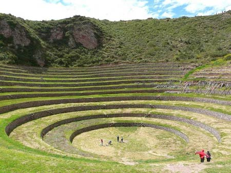 Kỳ bí ruộng bậc thang tròn Inca cổ đại, Du lịch, ruong bac thang, Peru, du lich Peru, du lich, du lich the gioi, canh dep, phong canh dep, Inca co dai, du khach