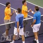 Thể thao - Federer hạ Nadal ở đánh đôi Indian Wells 2011