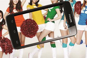 Philips W732- Smartphone pin khủng, siêu bền - 3