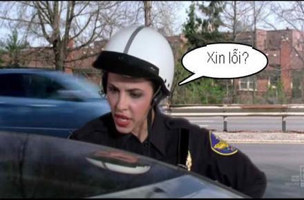 Chùm ảnh: Trêu nữ cảnh sát giao thông - 3