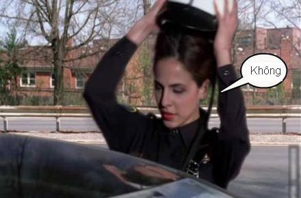 Chùm ảnh: Trêu nữ cảnh sát giao thông - 9