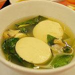 Ẩm thực - Thích thú với súp nghêu tàu hũ lá quế