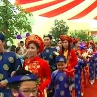 Hà Nội lần đầu tiên tổ chức đám cưới tập thể