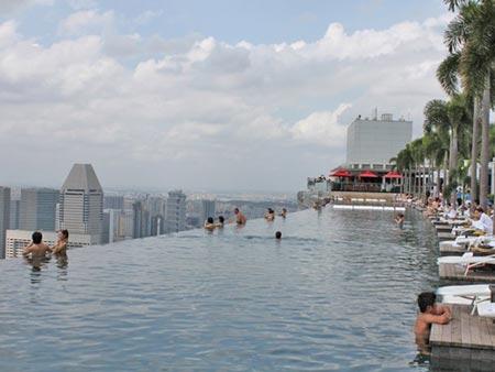 Cận cảnh bể bơi cao nhất thế giới - 3
