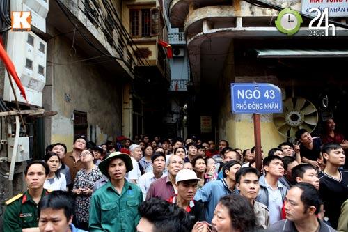 HN: Cháy lớn ở chợ Giời, dân hoảng loạn - 2