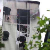 HN: Cháy lớn ở chợ Giời, dân hoảng loạn