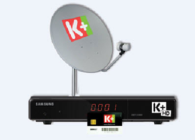 Đầu thu HD của K+ giảm đến 50% - 1