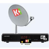 Đầu thu HD của K+ giảm đến 50%