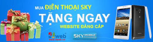 """Giá điện thoại Sky rẻ bất ngờ với """"Hello Vietnam 2013"""" - 1"""