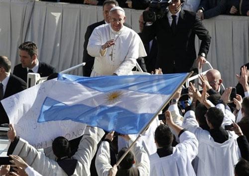 Lễ nhậm chức của Giáo hoàng Francis - 1