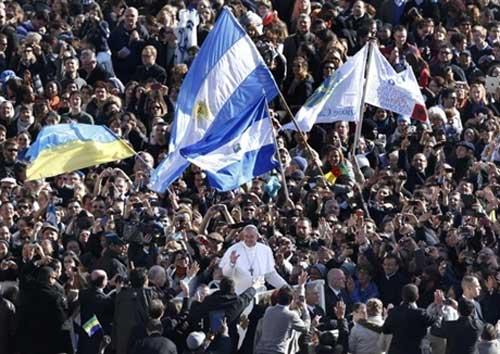 Lễ nhậm chức của Giáo hoàng Francis - 4