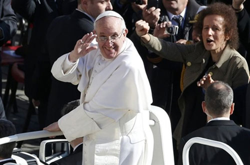 Lễ nhậm chức của Giáo hoàng Francis - 5