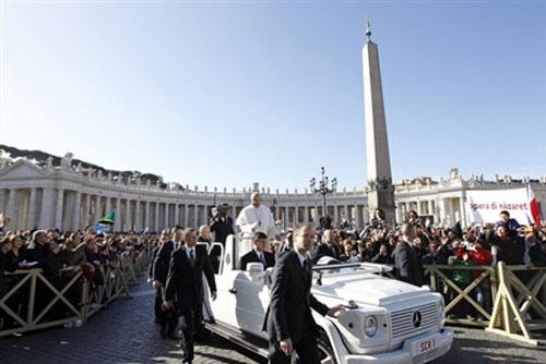 Lễ nhậm chức của Giáo hoàng Francis - 6